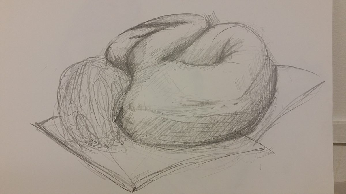 Life Drawing – Session 6 – Plateauing badly