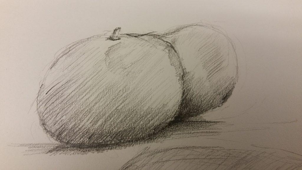 Tangerines - 2B Pencil