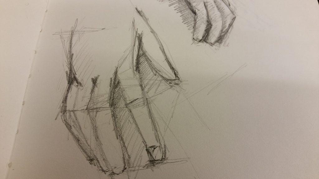 Hands - 2B Pencil