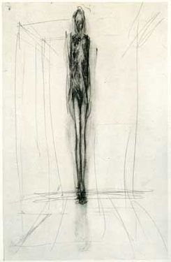 Giacometti - gesture drawing