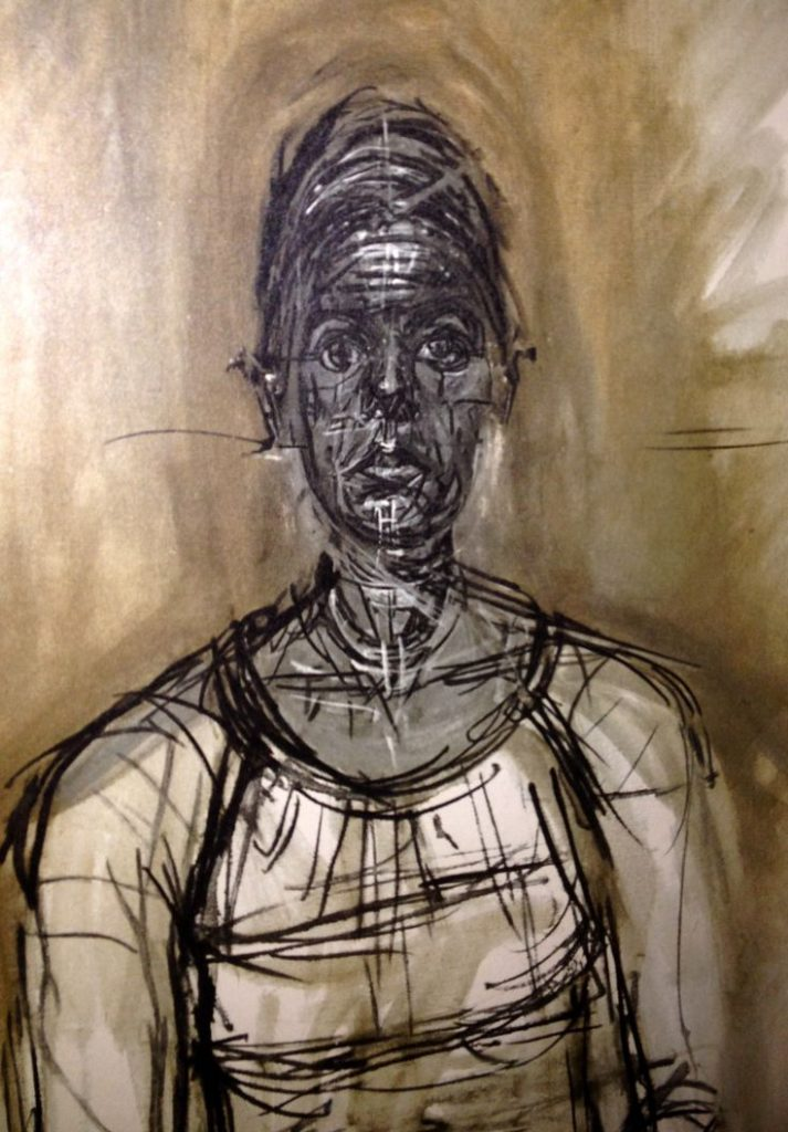 Giacometti - Portrait of a woman