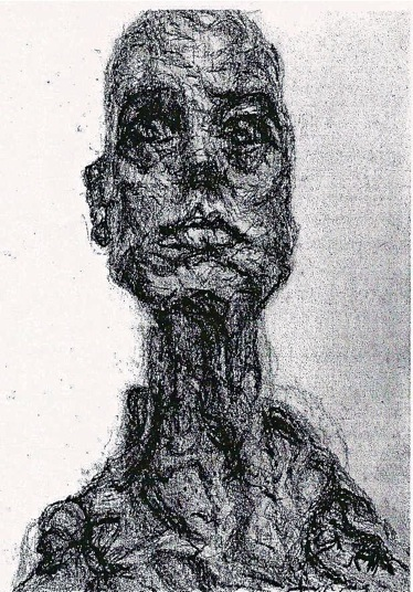 Giacometti - head