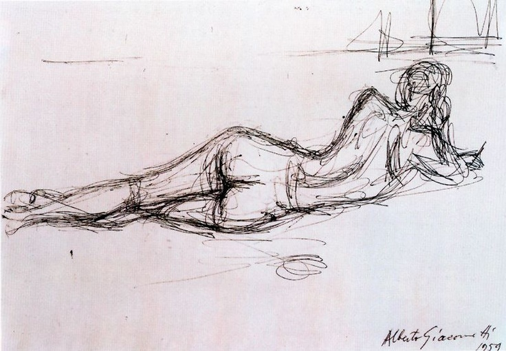 Giacometti - Nude